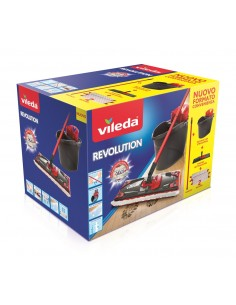 Vileda 158575 mopping system/bucket Single tank Black, Red, White Vileda 158576 - 1