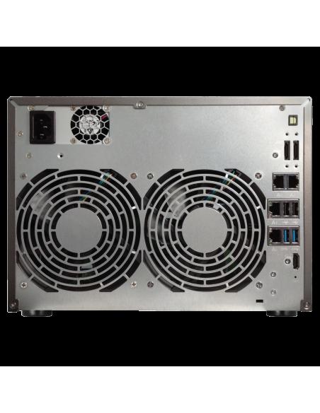 ASUS AS5008T NAS Nätverksansluten (Ethernet) Svart Asustek 90IX00D1-BW3S10 - 2