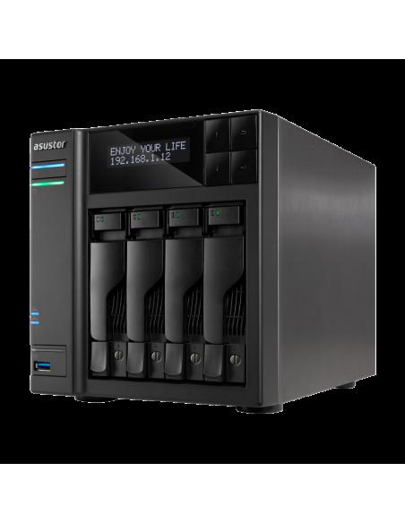 ASUS AS7004T NAS Ethernet LAN Black Asustek 90IX00E1-BW3S10 - 6