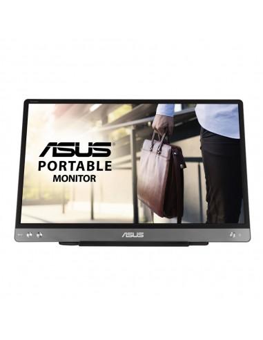 "ASUS MB14AC 35.6 cm (14"") 1920 x 1080 pikseliä Full HD Harmaa Asustek 90LM0631-B01170 - 1"