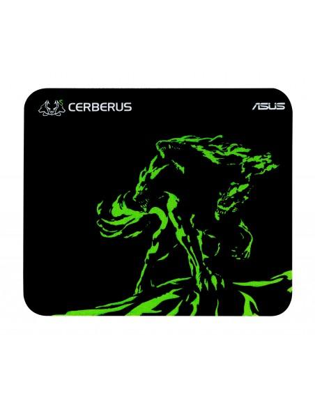 ASUS Cerberus Mat Mini Gaming mouse pad Black, Green Asustek 90YH01C4-BDUA00 - 1
