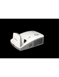 Vivitek D756USTi datorprojektorer Väggmonterad projektor 3300 ANSI-lumen DLP WXGA (1280x800) 3D kompatibilitet Vit Vivitek D756U
