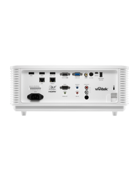 Vivitek DH4661Z data projector Desktop 5000 ANSI lumens DLP 1080p (1920x1080) White Vivitek DH4661Z-WH - 6