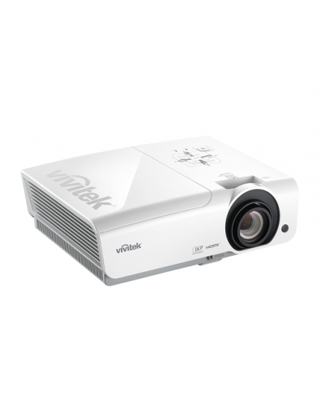 Vivitek DH976-WT data projector Desktop 4800 ANSI lumens DLP 1080p (1920x1080) 3D White Vivitek DH976-WT - 3
