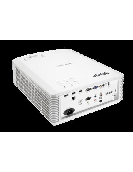 Vivitek DU4671Z data projector Desktop 5500 ANSI lumens DLP WUXGA (1920x1200) 3D White Vivitek DU4671Z-WH - 5