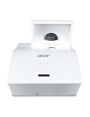 Acer Education U5213 dataprojektori Seinäkiinnitetty projektori 3000 ANSI lumenia DLP XGA (1024x768) 3D Valkoinen Acer MR.JJX11.