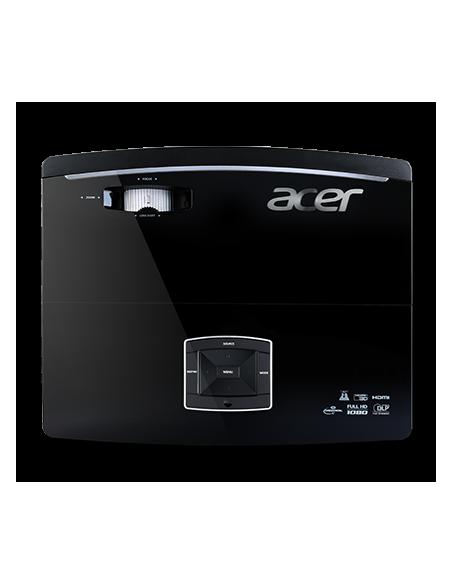 Acer Large Venue P6600 dataprojektori Kattoon kiinnitettävä projektori 5000 ANSI lumenia DLP WUXGA (1920x1200) 3D Musta Acer MR.