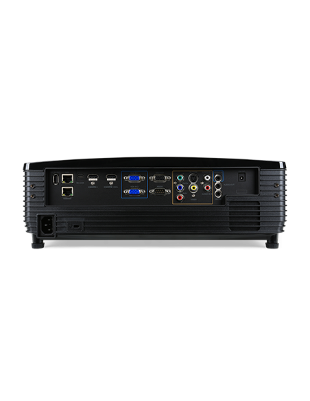 Acer Large Venue P6600 datorprojektorer Takmonterad projektor 5000 ANSI-lumen DLP WUXGA (1920x1200) 3D kompatibilitet Svart Acer