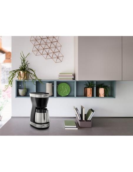 DeLonghi Dedica Style ICM 16710 kahvinkeitin Yhdistelmäkahvinkeitin 1.25 L Delonghi ICM 16710 - 3