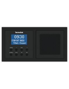 TechniSat DIGITRADIO UP 1 Seinään kiinnitettävä Analoginen & digitaalinen Musta Technisat 0000/3900 - 1