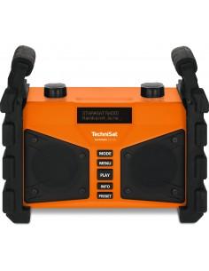 TechniSat DIGITRADIO 230 OD Työpaikka Analoginen & digitaalinen Musta, Oranssi Technisat 0000/3907 - 1