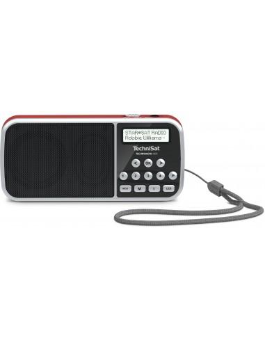 TechniSat 0000/3922 radioapparater Bärbar Digital Röd Technisat 0000/3922 - 1