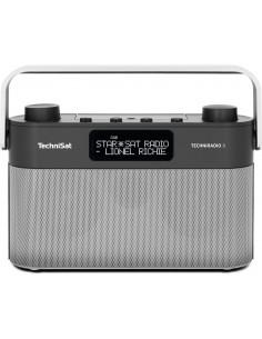 TechniSat TECHNIRADIO 8 Kannettava Analoginen & digitaalinen Musta, Hopea Technisat 0000/3930 - 1