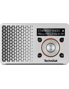TechniSat DigitRadio 1 Bärbar Digital Orange, Silver Technisat 0003/4997 - 1