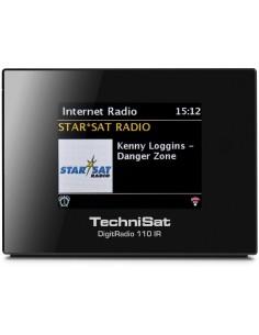 TechniSat DigitRadio 110 IR Internet Digitaalinen Musta Technisat 0010/4958 - 1