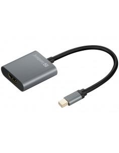 Sandberg Adapter MiniDP1.4>HDMI2.0 4K60 Sandberg 509-20 - 1