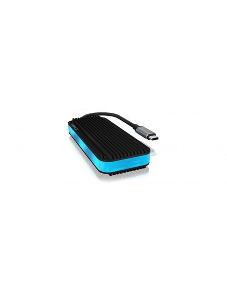 ICY BOX IB-1821ML-C31 storage drive enclosure SSD Anthracite, White Raidsonic 60697 - 1