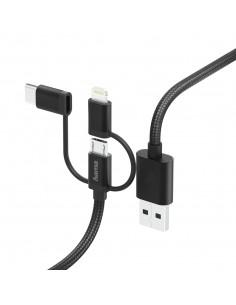 Hama 00183304 USB-kaapeli 1.5 m USB 2.0 A Micro-USB B Musta Hama 183304 - 1