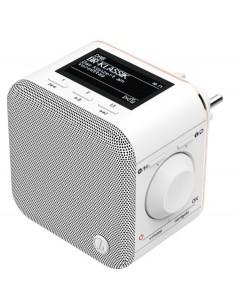 Hama DR40BT-PlugIn Portable Analog & digital White Hama 54871 - 1