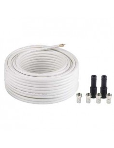 """Hama SAT Connection Kit """"Digital"""" coaxial cable 20 m White Hama 56661 - 1"""