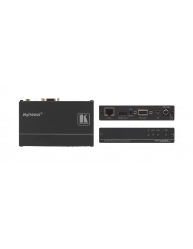 Kramer Electronics TP-580RXR AV-signaalin jatkaja AV-vastaanotin Musta Kramer 50-80022190 - 1