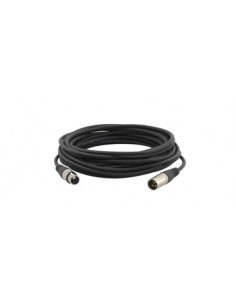 Kramer Electronics XLR Quad Style, 0.3m audio cable (3-pin) Black Kramer 95-1211001 - 1