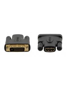 Kramer Electronics 99-9497001 cable gender changer DVI–D HDMI Black, Gold Kramer 99-9497001 - 1