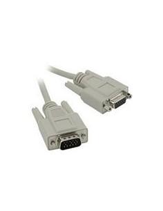C2G 5m HD15 M/F SVGA Cable VGA-kaapeli VGA (D-Sub) Harmaa C2g 81169 - 1