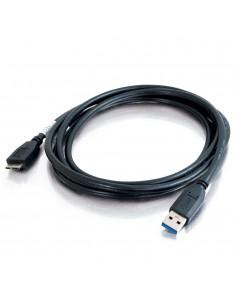 C2G 81683 USB-kablar 1 m USB 3.2 Gen (3.1 1) A Micro-USB B Svart C2g 81683 - 1