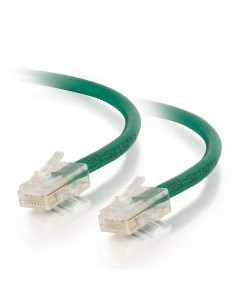 C2G 0.5m Cat5e Non-Booted Unshielded (UTP) Network Patch Cable - Green C2g 83060 - 1