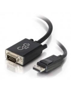 C2G 2m DisplayPort to VGA Adapter Cable - DP Black C2g 84332 - 1