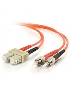 C2G 85487 valokuitukaapeli 20 m SC ST OFNR Oranssi C2g 85487 - 1