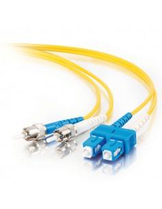 C2G 85580 fibre optic cable 5 m SC ST OFNR Yellow C2g 85580 - 1