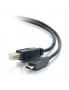 C2G USB 2.0, C - Standard B, 4m USB-kablar B Svart C2g 88861 - 1