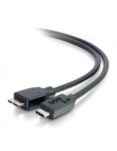 C2G USB 3.0, C - Micro B, 2m USB-kaapeli 3.2 Gen 1 (3.1 1) Micro-USB B Musta C2g 88863 - 1
