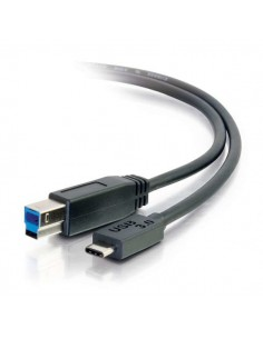 C2G USB 3.0, C - Standard B, 2m USB-kablar 3.2 Gen 1 (3.1 1) B Svart C2g 88866 - 1