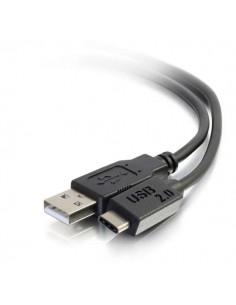 C2G 1m, USB2.0-C/USB2.0-A USB-kaapeli USB C A Musta C2g 88870 - 1