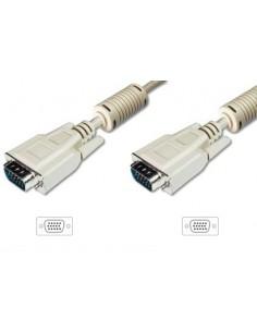 ASSMANN Electronic AK-310103-018-E VGA-kaapeli 1.8 m VGA (D-Sub) Beige, Nikkeli Assmann AK-310103-018-E - 1