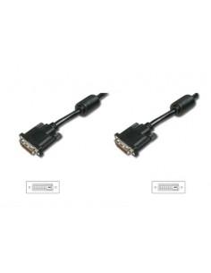 ASSMANN Electronic AK-320101-050-S DVI-kabel 5 m DVI-D Svart, Nickel Assmann AK-320101-050-S - 1