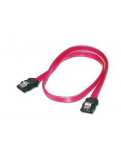 ASSMANN Electronic 2x SATA 7-pin, 0.75 m SATA-kablar Svart, Röd Assmann AK-400102-008-R - 1