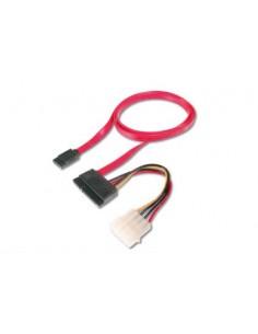 ASSMANN Electronic AK-400112-005-R SATA cable 0.5 m 22-pin Red Assmann AK-400112-005-R - 1