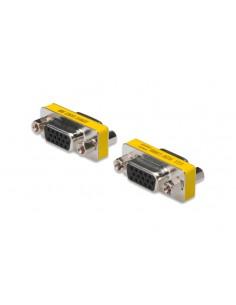 ASSMANN Electronic AK-610512-000-I cable gender changer VGA Rostfritt stål, Gul Assmann AK-610512-000-I - 1