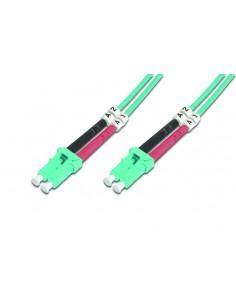 Digitus LC OM3, 2m fiberoptikkablar Multifärg Assmann DK-25332-02/3 - 1