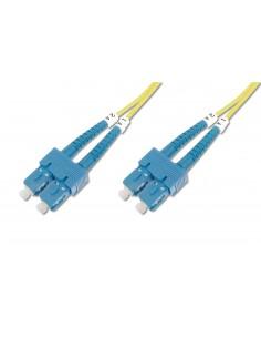 Digitus SC/SC, 10 m fiberoptikkablar Gul Assmann DK-2922-10 - 1