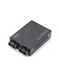 Digitus DN-82024 verkon mediamuunnin 100 Mbit/s 1310 nm Monitila, Yksittäistila Musta Assmann DN-82024 - 1