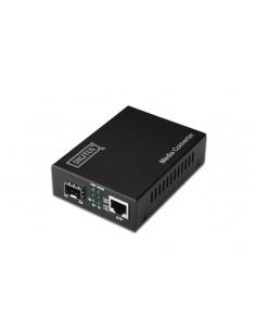 Digitus DN-82130 mediakonverterare för nätverk 1000 Mbit/s Svart Assmann DN-82130 - 1