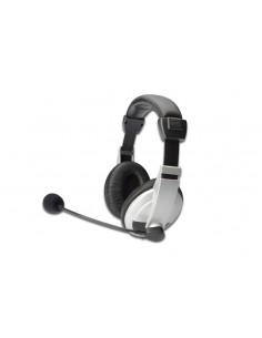 Ednet 83130 headphones/headset Head-band 3.5 mm connector Black, White Ednet 83130 - 1