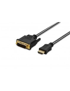 Ednet 84487 video cable adapter 5 m HDMI DVI-D Black Ednet 84487 - 1