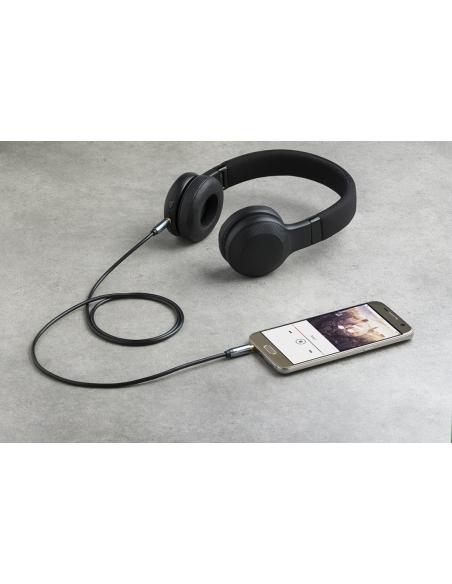 PNY C-AM-AM-C01-03 audiokaapeli 1 m 3.5mm Musta, Harmaa Pny C-AM-AM-C01-03 - 3