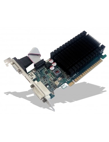 PNY GF710GTLH2GEPB näytönohjain NVIDIA GeForce GT 710 2 GB GDDR3 Pny GF710GTLH2GEPB - 1